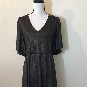 Torrid Shimmer Skater dress; NWT